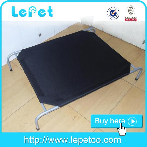 elevated metal bed frame