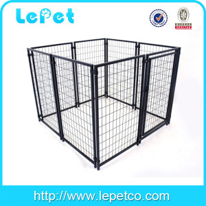 Large outdoor heavy duty metal dog kennel wholesale
