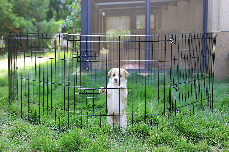 Pet Playpen Puppy Dog Playpen Dog Exercise Playpen