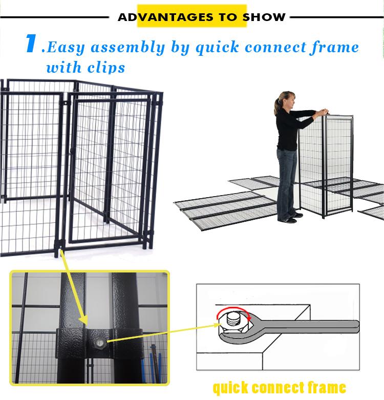 metal dog kennel manufacturer