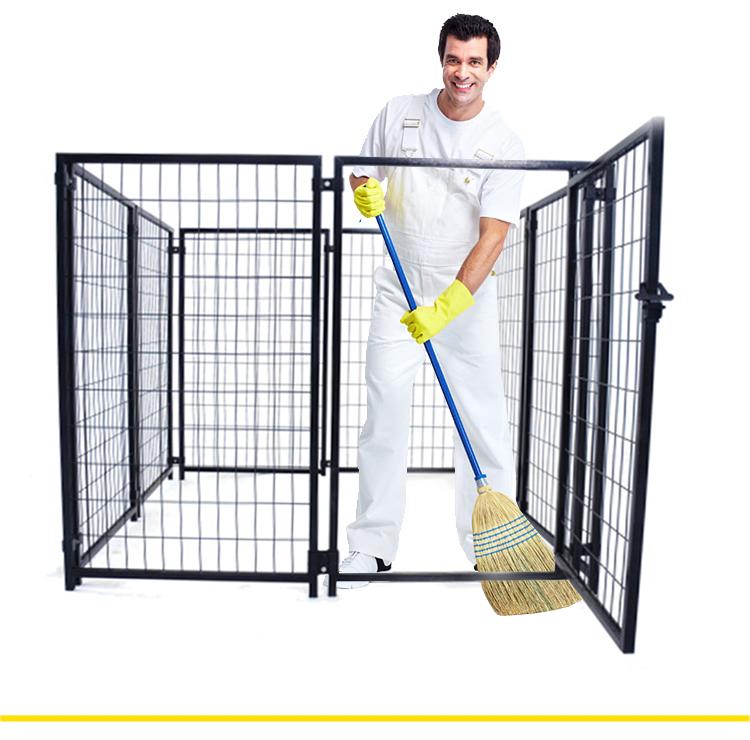 Large outdoor dog kennel Manufacturer