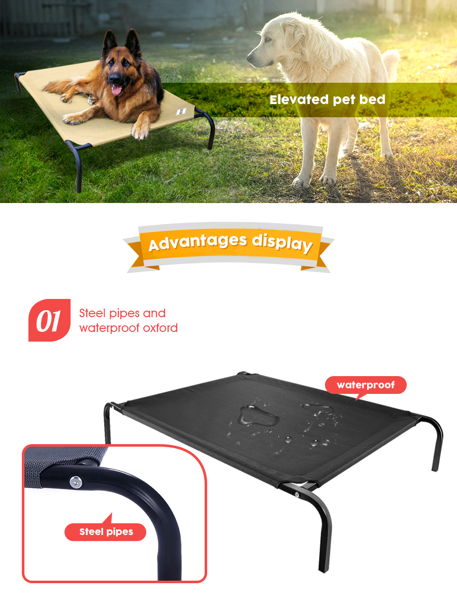Elevated Pet Bed Dog Camping Cot