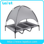 Elevated Pet Bed Dog Camping Cot with Canopy Shade