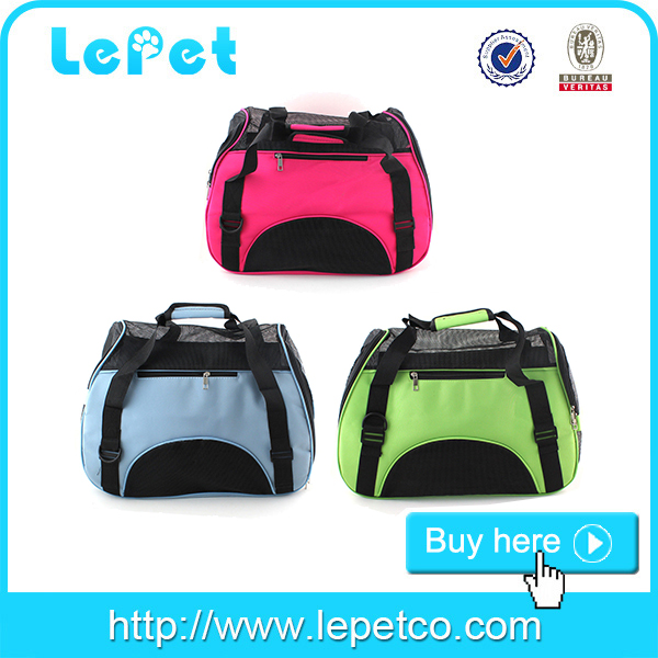 Cat carrier pet bag pet carrier airline soft pet crate