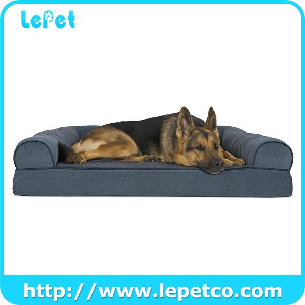 Pet Cushion Dog Bed Mat Washable Orthopedic Memory Foam Dog Bed