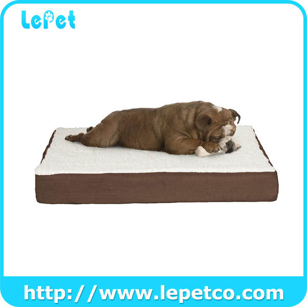 Washable Large Pet Dog Bed Memory Foam Dog Bed Factory