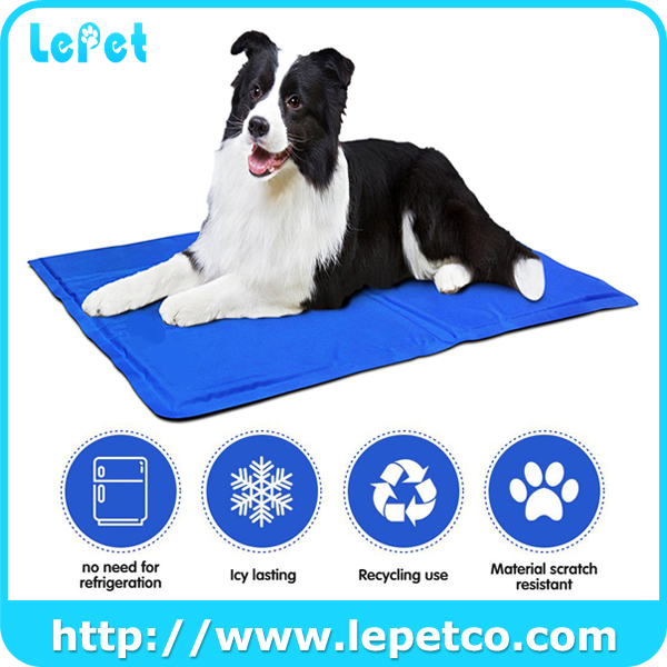 Factory direct sale re-usable Non-toxic pet cooling mat dog cooling pad