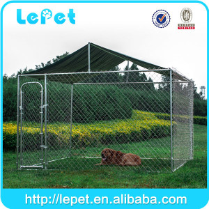 High quality large outdoor metal chain link dog kennel manufacturer