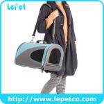 Soft dog travel crate soft sided pet carrier bag wholesale pet carrier