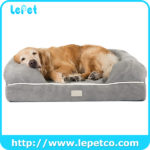 memory foam Pet Bed With Removable Cover