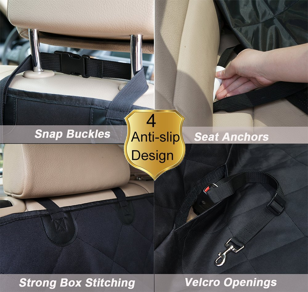 Dog car seat cover hammock,pet car seat cover, Hot sale on Amazon Dog car seat cover