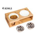 elevated cat bowl