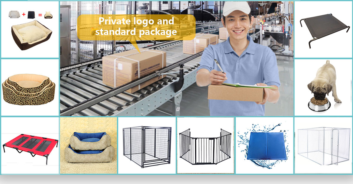 Manufacturer wholesale pet supply low price custom logo dog pet products
