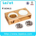Elevated Pet Feeder Ceramic Cat Bowl