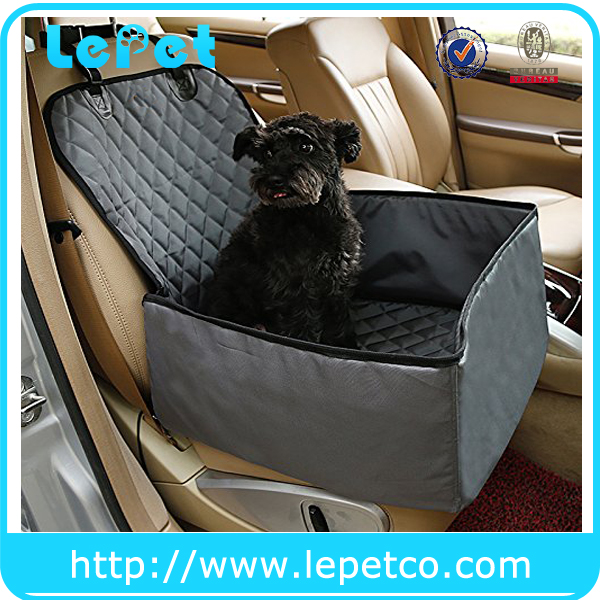 Factory wholesale supply Waterproof Pet car Seat Cover With Seat Belt Pet Hammock Car seat cover