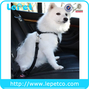 Adjustable Pet Car Vehicle Auto Safety Leads Dog Seat Belt Harness Private label suppliers