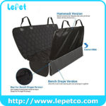 Soft Quilted Oxford Pet Car Seat Cover Car Seat Cover for Dog