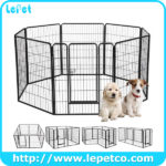 Factory Wholesale Supply Dog Run Metal Wire Pet Dog Exercise Pen Dog Playpen