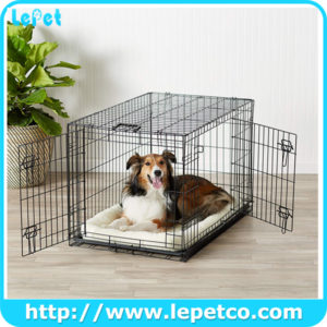 Heavy Duty Folding Pet Crate Metal Dog Crates