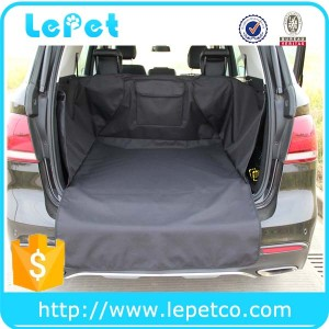 Factory wholesale deluxe waterproof quilted dog travel cargo liner