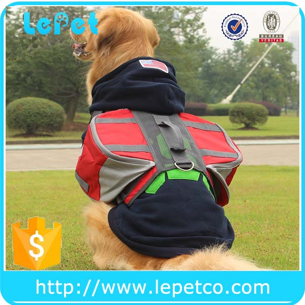 Factory wholesale Hiking and Camping saddle bag dog carrier backpack