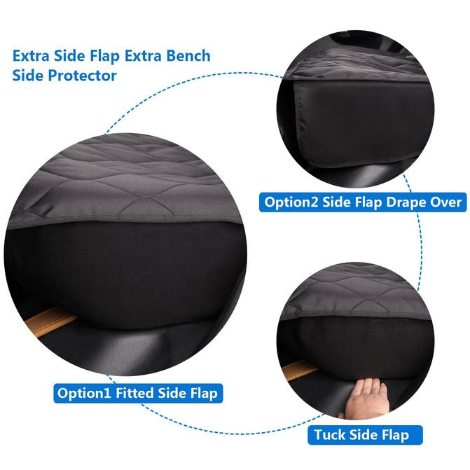 Waterproof Dog Seat Cover Dog Barrier Seat Protector manufacturer wholesale low price