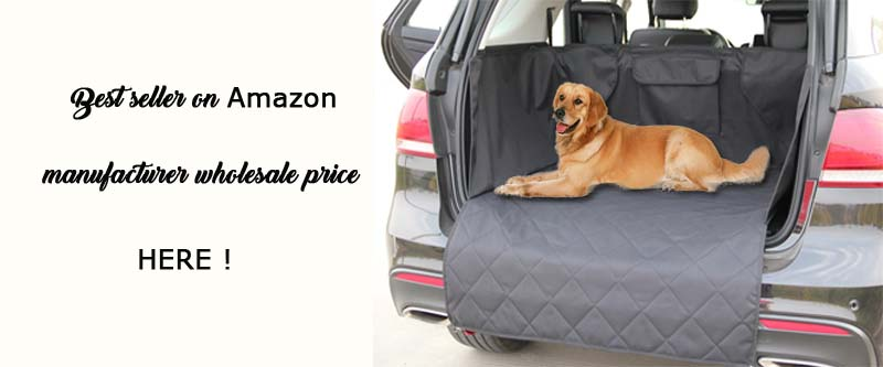 manufacturer wholesale pet cargo cover for SUV Dog Cargo Liners (2)
