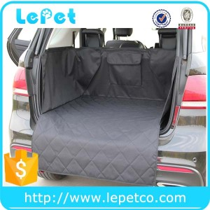 Best selling on amazon manufacturer wholesale pet cargo cover for SUV Dog Cargo Liners