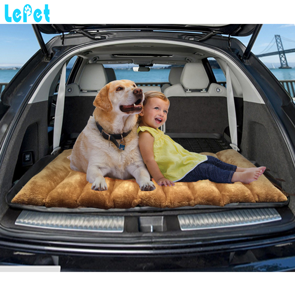 Factory supply Dog Camping Bed Portable Pet Mat Soft pet Carrier Cushion