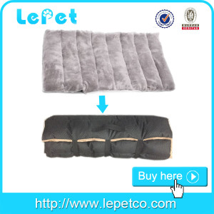 Dog Camping Bed Portable Pet Mat Soft pet Carrier Cushion Private label factory suppliers