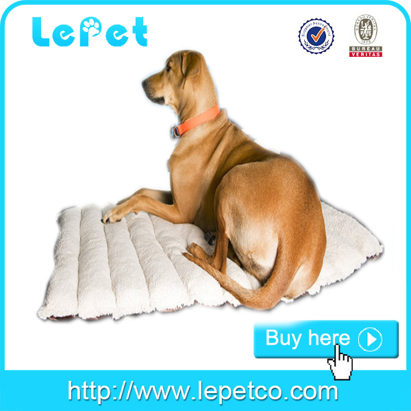 Soft pet mat for traveling Dog Bed Roll Up Pet Mat Crate Pad manufacturer wholesale supply