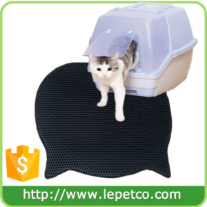 Factory direct sale Lightweight Water-Proof EVA foam litter box mat cat litter trapper mat