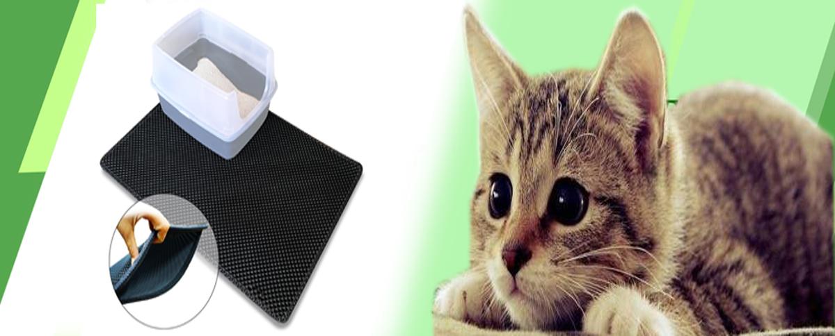 EVA foam double Layer Cat Litter Mat cat litter trapper mat