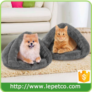 manufacturer wholesale soft cozy luxury pet cat cave cat house