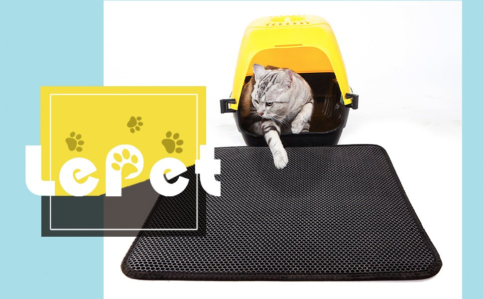 LePet ECO-friendly Double-Layer Honeycomb Cat Litter Trapper