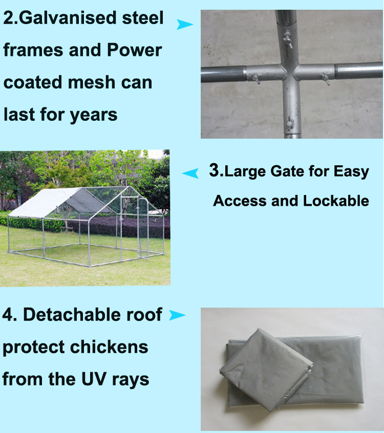 Factory Large Metal chicken poultry farm equipment