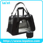 wholesale Pet Dog Cat Carrier Airline Approved foldable soft pet carrier