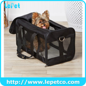 Airline Approved Dog Travel Bag Soft Sided Dog Pet Travel Carrier Bag