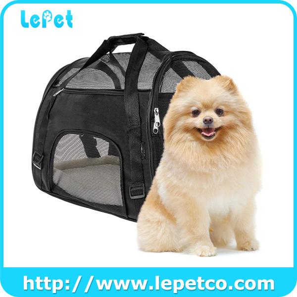 Airline Approved Dog Travel Bag Soft Sided Dog Pet Travel Carrier Bag