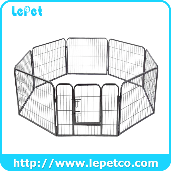 Portable for Travel Camping Expandable Pet Exercise Fence Dog Puppy Barrier Playpen Kennel