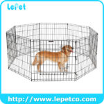Metal Dog Exercise Fence Pet Playpen Dog Exercise Playpen