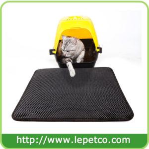 Factory direct sale Lightweight WaterProof EVA foam litter box mat cat litter trapper mat