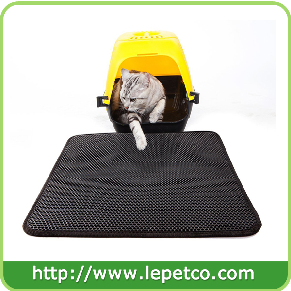 Factory direct sale Lightweight WaterProof EVA foam litter box mat cat litter trapper mat