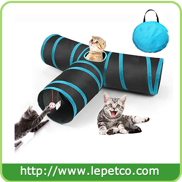 Collapsible Cat Toy Tunnel Foldable Cat tunnel Cat Play Cube Tunnel