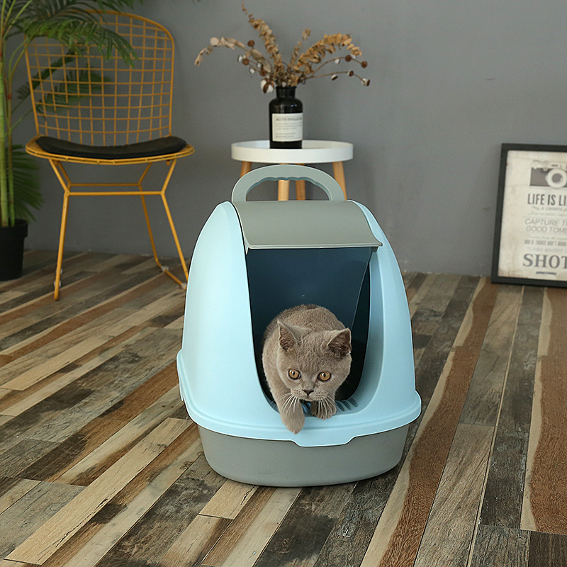 Manufacturer Wholesale Factory Cat litter box grid Cat toilet Cat Litter Box
