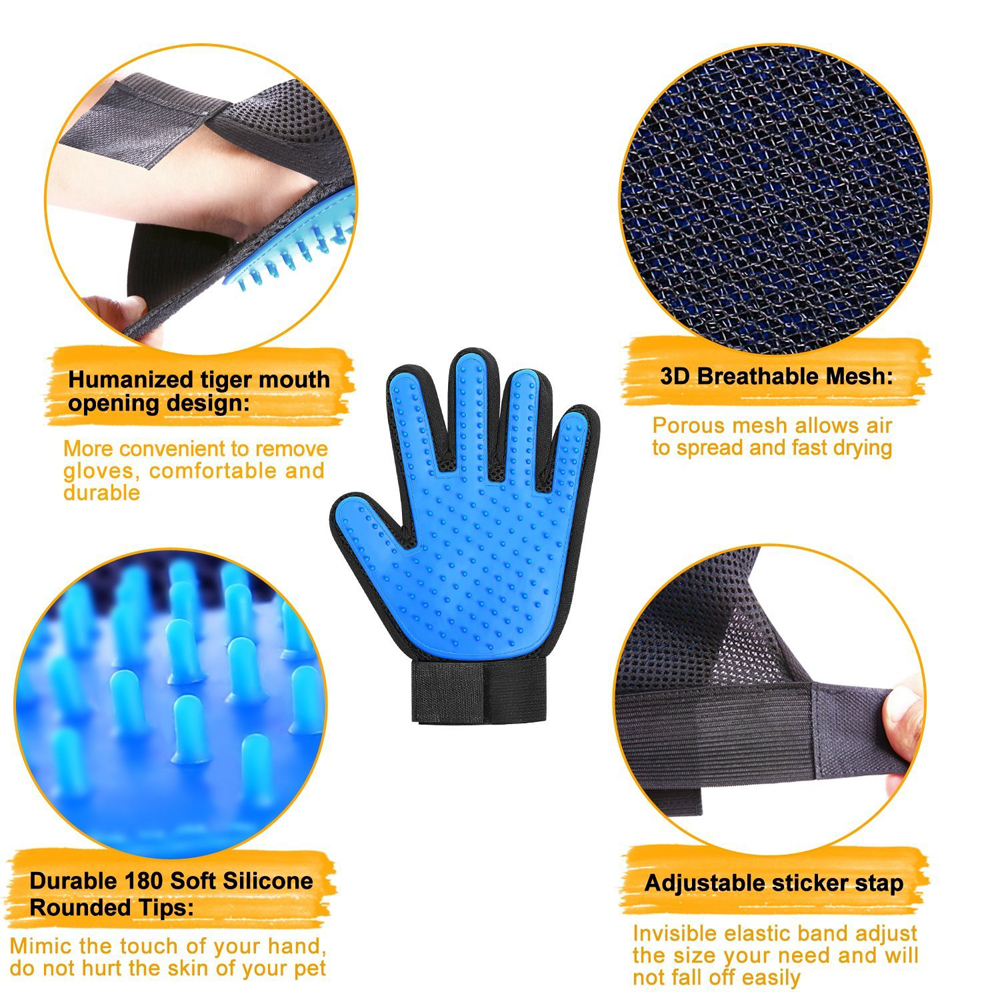 dog Grooming Gloves