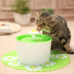 Factory supply pet water dispenser automatic cat fountain cat flower water fountain cat water fountain