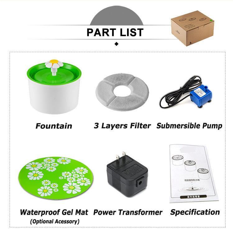 pet water fountain pet fountain factory