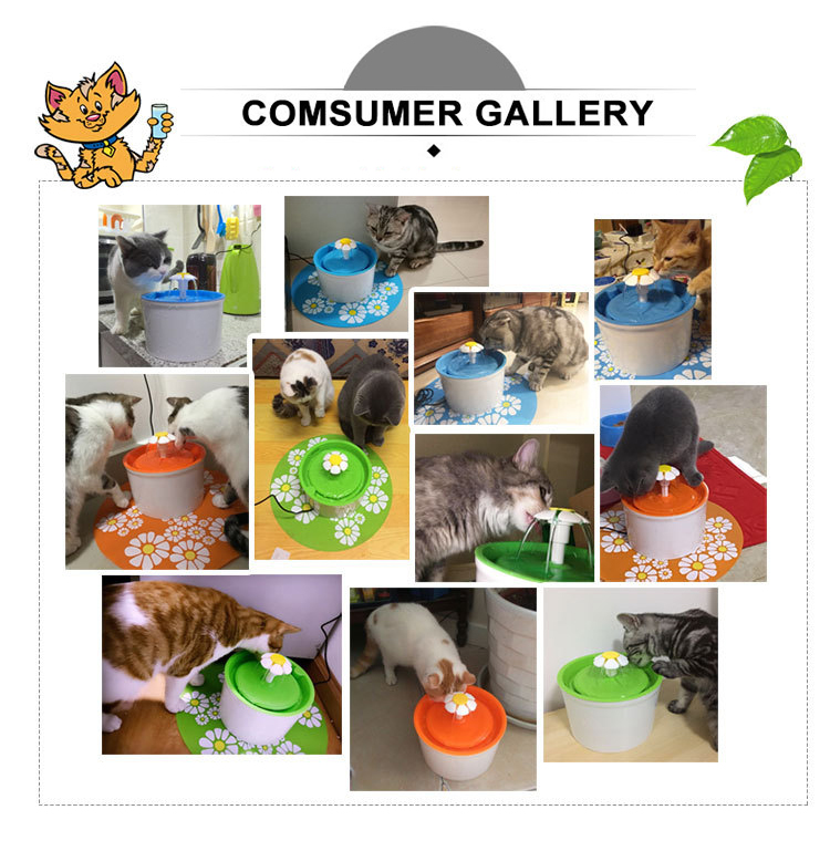 pet water fountain pet fountain factory wholesale