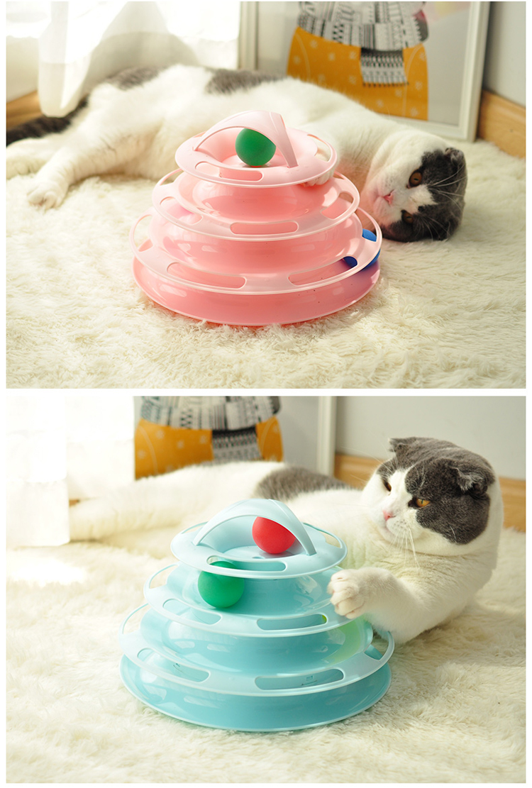 tower cat toy